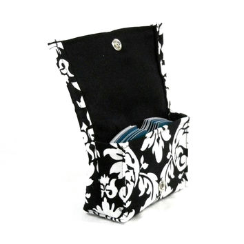 Business Card Holder Store Card Holder Classic Damask