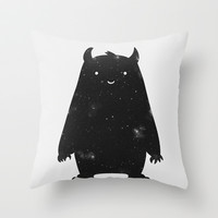 Mr. Cosmos Throw Pillow by Zach Terrell