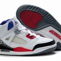 New Nike Air Jordan 3.5 Spizike Kids Shoes White Black