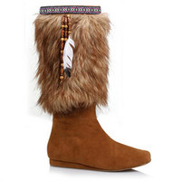 "Women's Native 1"" Heel Tan Boot"