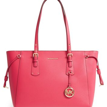 MICHAEL Michael Kors Voyager Leather Tote | Nordstrom