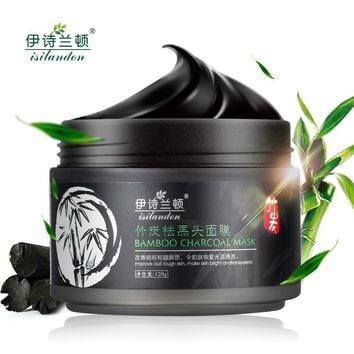 Bamboo Charcoal Nose Blackhead Remover Face Mask Skin Care Peeling Mask Acne Treatment Mask Face Care  Black Head Mask