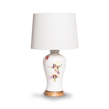 PeeWee Hummingbird Lamp