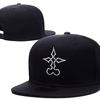 BARONL Kingdom Hearts Nobody Symbol Adjustable Snapback Embroidery Caps Hats