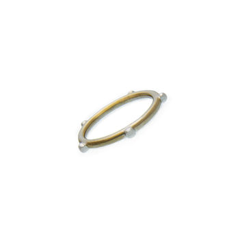 Elements Air Sterling Silver Bronze Ring