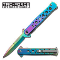 Stiletto Bubble Hologram Blade