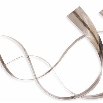 Synchronicity Contemporary Wall Sculpture by Metal Perspectives