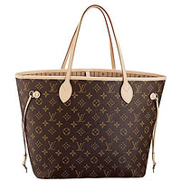 Louis Vuitton Neverfull MM Monogram Canvas Handbag Shoulder Bag Tote Purse Tagre™