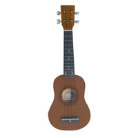 Pyle PUKT15BR Soprano Ukelele Guitar 21 Hard Wood W/Carrying Bag & Picks
