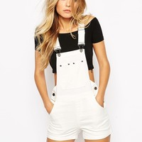 Noisy May Dungaree Shorts