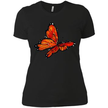 Becoming Watercolor Monarch Butterfly Tattoo 2017 T Shirt