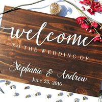Wood Wedding Sign, Wood Reception Sign, Rustic Wedding Sign, Welcome Wedding Sign, Custom Wedding Sign, Custom Wood Sign, Pallet Wood Sign