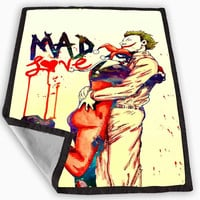 mad love joker harley quinn Blanket for Kids Blanket, Fleece Blanket Cute and Awesome Blanket for your bedding, Blanket fleece *