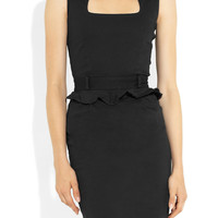 Preen Line | Virginia stretch-cotton peplum dress | NET-A-PORTER.COM