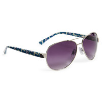 Aeropostale Womens Southwest Aviator Sunglasses - Gray, One
