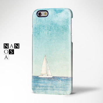 Summer Sea Sailboat iPhone 6 Case,iPhone 6 Plus Case,iPhone 5s Case,iPhone 5C Case,iPhone 4s Case,Samsung Galaxy S5/S4/S3/Note 3/Note 2 Case