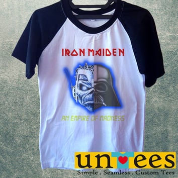 Iron Maiden An Empire of Madness Short Raglan Sleeves T-shirt