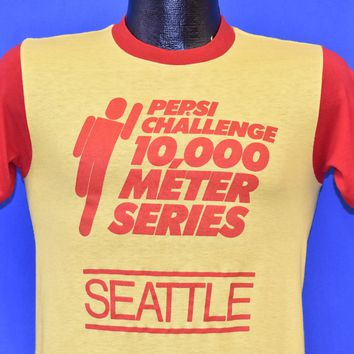 80s Seafair Pepsi Challenge Seattle 1982 t-shirt Small