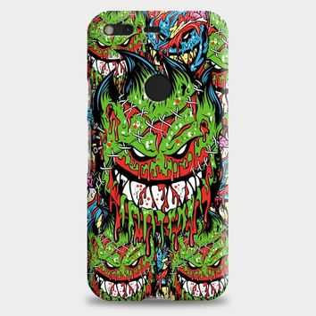 Spitfire Monster Skateboard Wheels Google Pixel XL 2 Case | casescraft