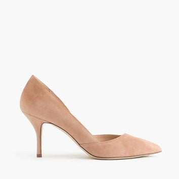 J.Crew Womens Colette Suede D'orsay