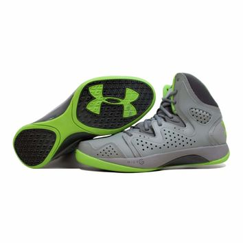 Under Armour UA Micro G Torch 2 Steel/Black-Green 1238926-035