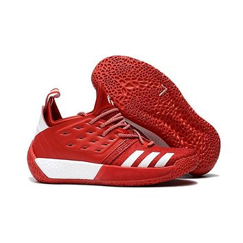 Adidas Harden Vol. 2 Red/white Basketball Shoes Us7 11.5 | Best Deal Online