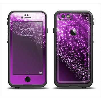 The Shower of Purple Rain Apple iPhone 6 LifeProof Fre Case Skin Set
