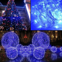 10m 100L String Fairy Lights Lighting Wedding Garden Christmas Decor 220V Blue W_C = 1712394692