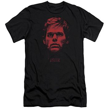 Dexter - Bloody Face Premuim Canvas Adult Slim Fit 30/1