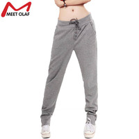 Women Dance Harem Pants New Summer Mid Waist Wide Full Length Casual Sweatpants Plus Size Leggings Trousers YL276