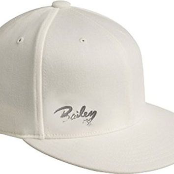 Bailey Western Men's Bailey Logo Hat,White