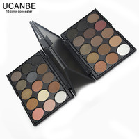 3 Different New fashion 15 Earth Color Matte Pigment Eyeshadow Palette Cosmetic Makeup Eye Shadow for women free shipping