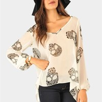 Boney Lady Top - Ivory at Necessary Clothing