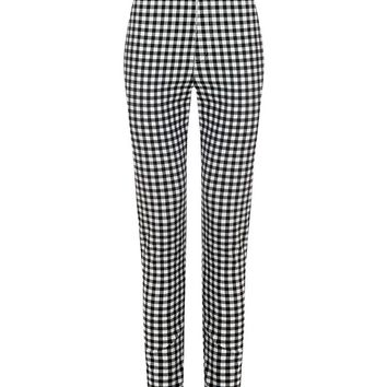 Vintage Inspired Maddie High Waisted Black Gingham Trousers | Vintage Style Cigarette Trousers | Vintage Style Trousers | Vintage Cigarette Pants | Vintage Style Clothing | 50s Style Trousers