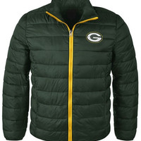 G3 Sports Men's Green Bay Packers Packable Quilted Jacket