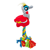 Leaps & Bounds Swampy Crowned Crane Dog Toy
