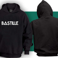 bastille Hoodies Hoodie Sweatshirt Sweater Shirt black and white Unisex