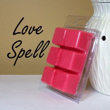 Soy Wax Tarts: Love Spell Scented Wax Cubes, Candle Melts