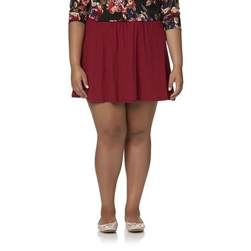 Joe Boxer Joe Boxer Women's Plus Skater Skirt