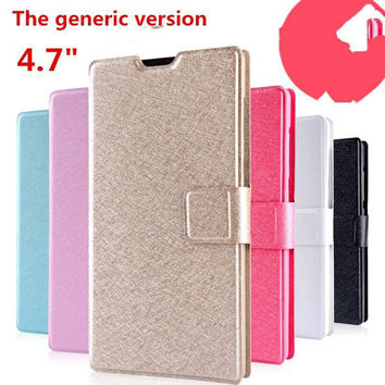 2015 cell phone set for xiaomi Red rice 1S hongmi 1s phone shell flip millet phone protective sleeve jacket 4.7