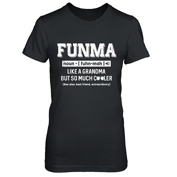 Funma Like A Grandma Only Cooler Mothers Day Gift