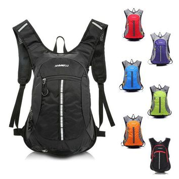 LONMF Lixada Waterproof Climbing Backpack Outdoor Bike Cycling Backpack Hydration Sports Bag Hiking Running Water Bag with Rain Cover