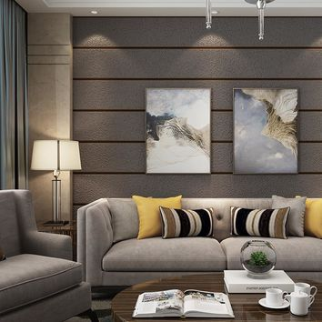 PAYSOTA 3D High Quality Deer Leather Wall Paper Bedroom Living Room Sofa TV Background Marble Wallpaper Roll