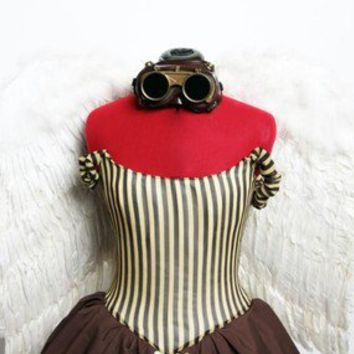 Steampunk Fairy Costume Made To Order by Deconstructress on Etsy