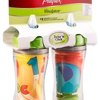 Playtex Insulator/Playtime Cup, 9 Ounce, 2 Pack, (Styles and colors May Vary)