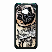 pugs alot dog for HTC One M7 case *RA*
