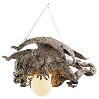 Park Avenue Collection Nightfall Gargoyle Chandelier
