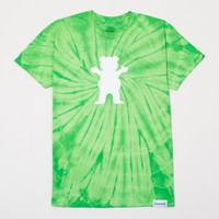 OG Bear Tie-Dye Tee in Green