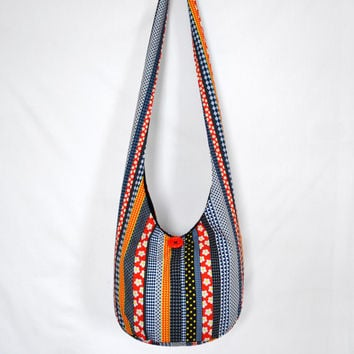 Shop Striped Hobo Bags on Wanelo