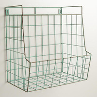 Aqua Braedyn Wire Wall Storage with Shelf